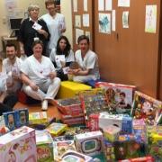 Et nous voici maintenant à l'hôpital des enfants (Huderf)...
